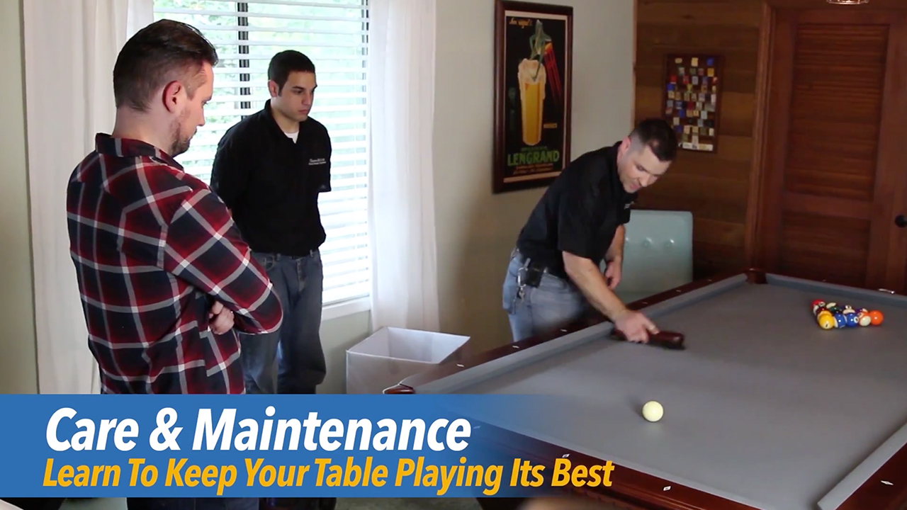 pool table install