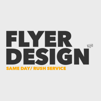Rush Flyer Design